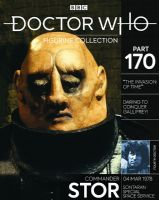 Doctor Who Figurine Collection Part 170: Sontaran Commander Stor